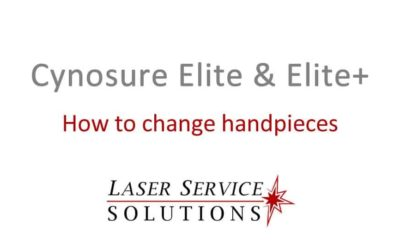 How to Change Handpieces on an Elite or Elite+ Laser